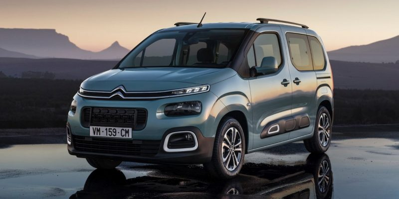 2019 Citroen Berlingo Front HD Image